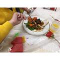 KS2 Christmas lunch