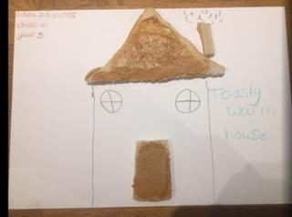 Edith's toasty warm house