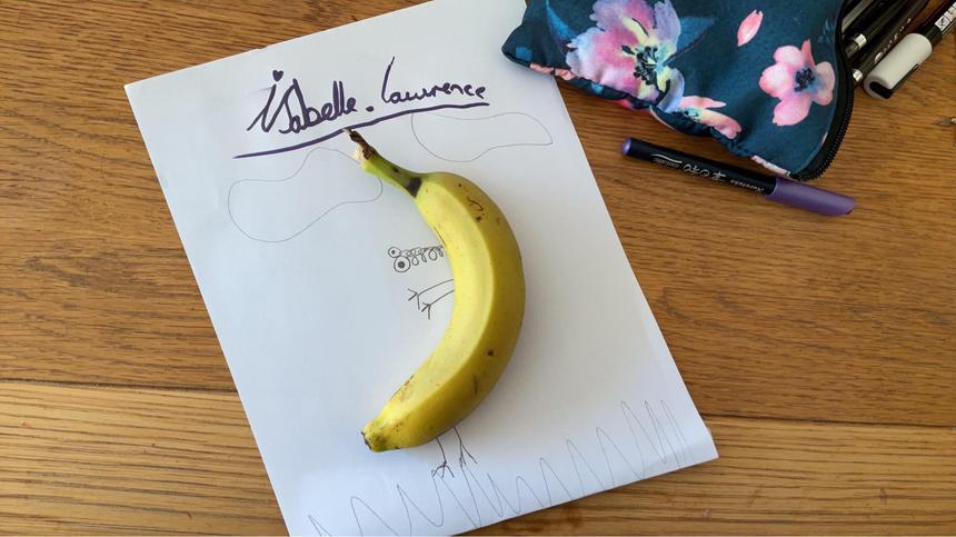 Isabelle's Banana Art