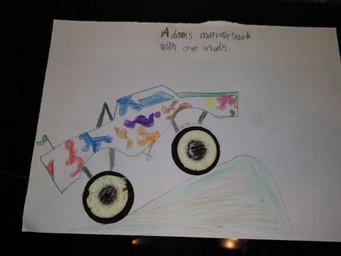 Adam's Oreo Monster Truck