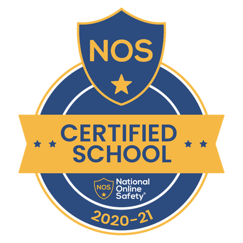 We are a National Online Safety Accredited School for 2020-2021