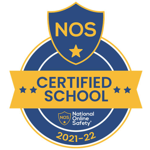We are a National Online Safety Certified School for 2021-2022