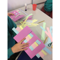 paper weaving in art