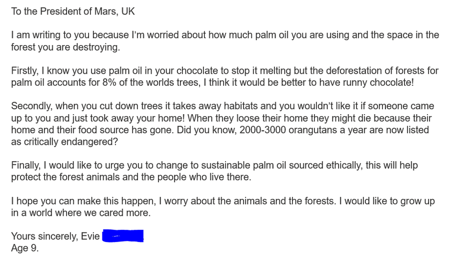 Palm Oil Concerns