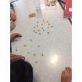Cheerio challenge to represent solid, liquid and gas particles!