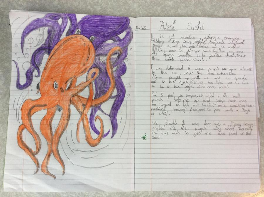 Oktopodi - retelling a story