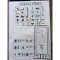 Jake's Hieroglyphics work