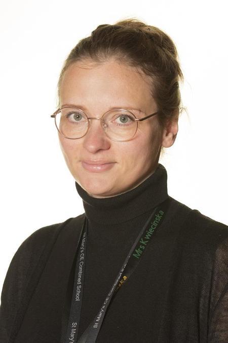 Mrs Karolina Kwiecinska - Teaching Assistant