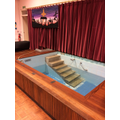 Year 1 - Baptism using a baptistry