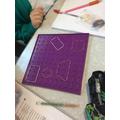 Maths - investigating shapes.