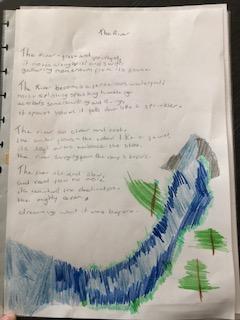River poem
