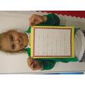 We wrote harvest acrostic poems