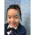 WCD2020-Child with face paint close up
