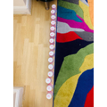 We have enjoyed creating our own number lines in Maths!