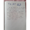 Rewriting the beginning of King Jack and the Dragon!