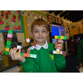 We love making tricky words out of multi-link!