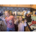 These ladies enjoyed making doughnuts with their Mum for their special celebration! Enjoy!