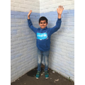 WCD2020-Child with hands up