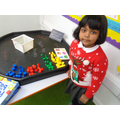 Sorting shapes by colour