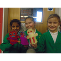 We made our own puppets