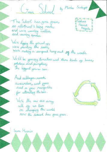 Green School Poem