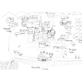 A's map from a story. Do you recognise it?