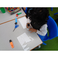 Creating the nativity scene with 2D shapes