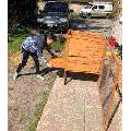 Oliver & Toby building a coop
