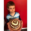 Looks like a graet cake Noah.