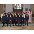 Year 5 after receiving their first communion