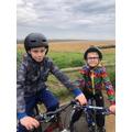 Hope you enjoyed the bike ride Noah.