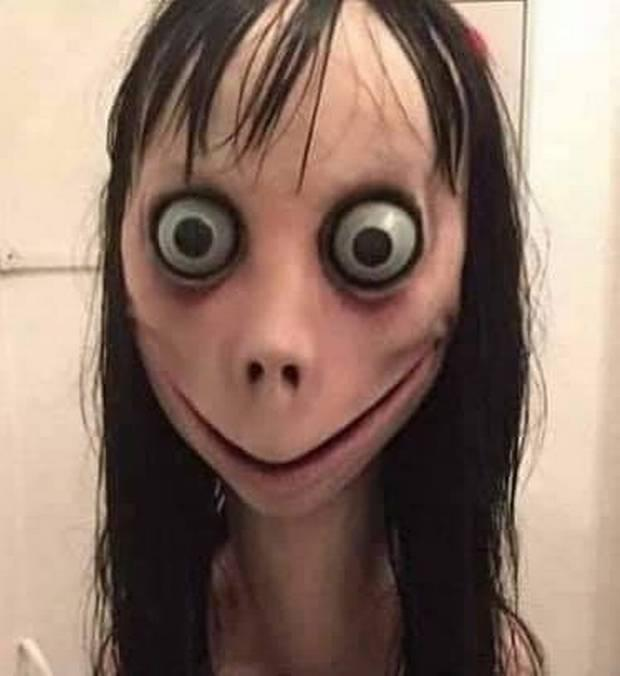 This is the image used in the Momo videos or on the WhatsApp requests.