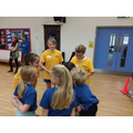 Sports leaders at Broadmayne First School