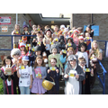 Pupils at St. Mary's celebrating World Book Day!