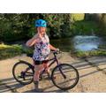 Hope you enjoyed the bike ride Emily.