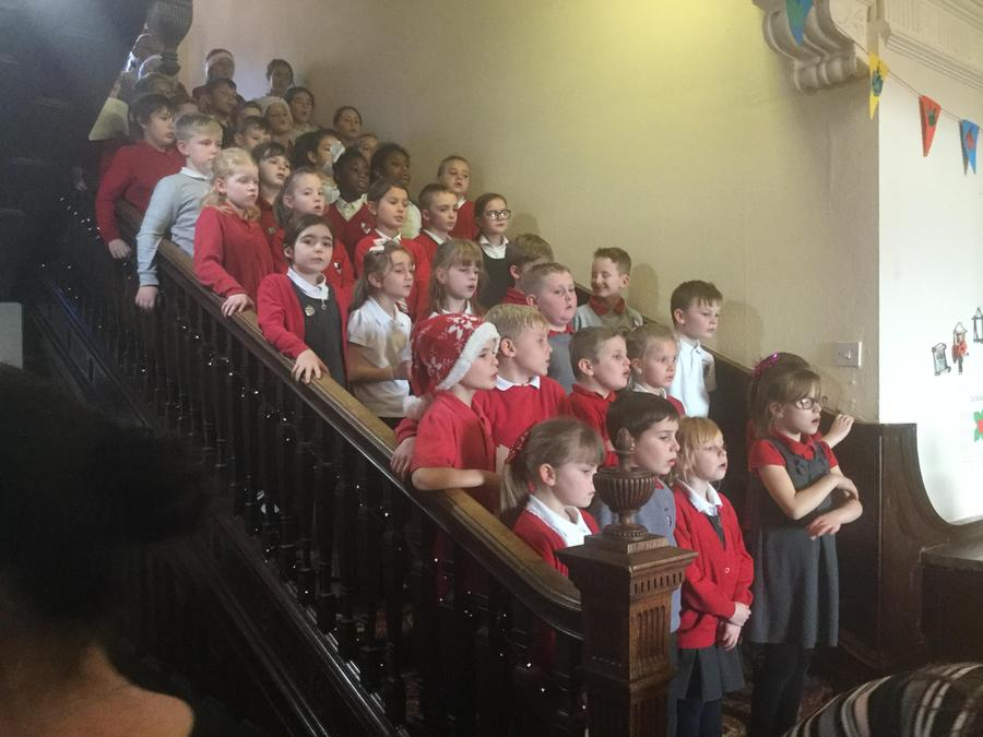 KS2 Singing Carols in the Community
