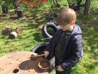 Who doesn't enjoy making mud pies?