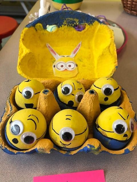The Minions paid us a visit....