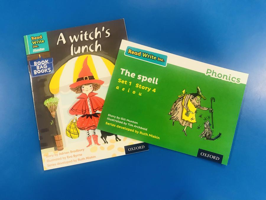 RWI Guided Reading books and book bag books