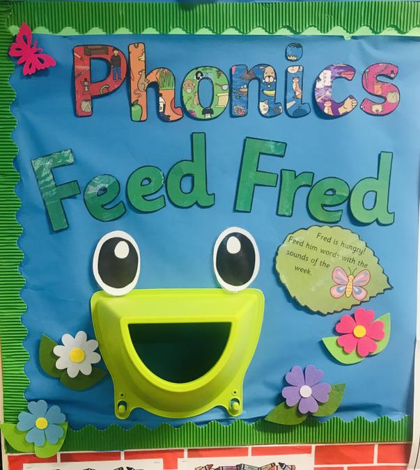 There's a Fred to 'feed' in every classroom