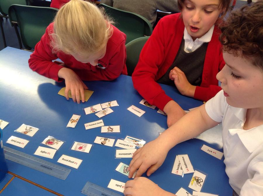Playing card sort games about sports