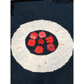 Y4 made a Remembrance Wreath from their writing