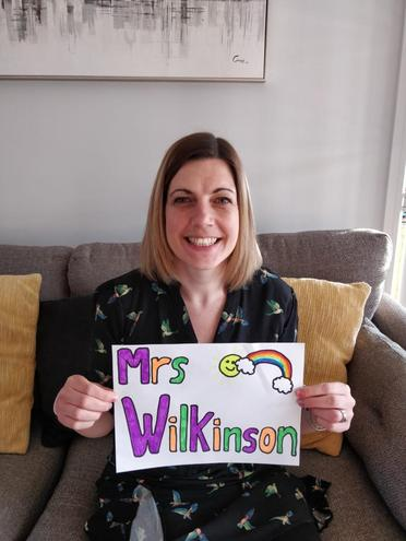 Mrs Wilkinson is your teacher on a Wednesday, Thursday morning and a Friday