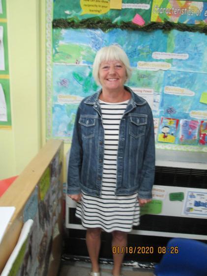 Mrs Warren is the nursery teacher and is part of the EYFS team