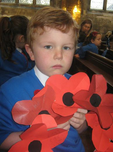 Remembrance at St Mary's Church