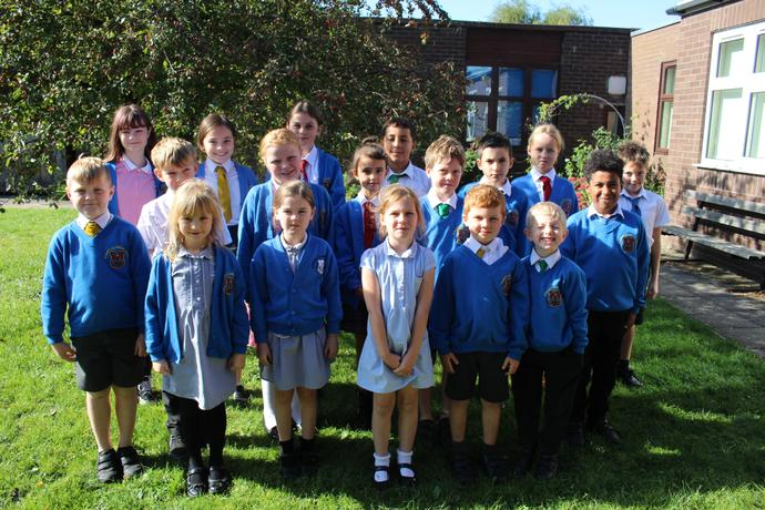Meet the new Sports Crew.  These children give up there own playtime to help promote sports within school and maintain the School's Games award.