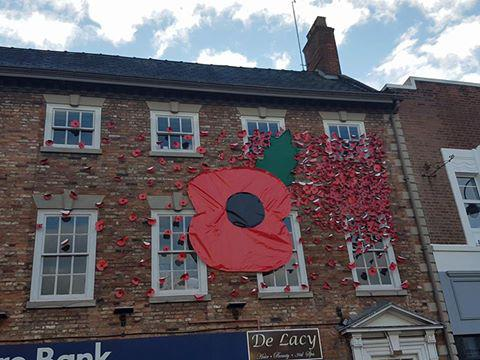 Display for Remembrance Day