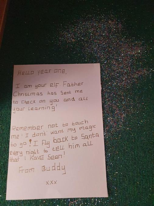 Letter from the elf