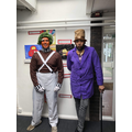 Who were Jack and Daryl on world book day?