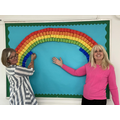'After every storm comes a rainbow'. Thanks Mrs Foster and Mrs Garland!